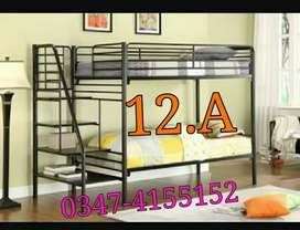 Side stair bunk bed
