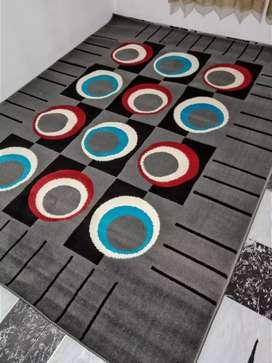 Karpet warna abu ukuran 210x160