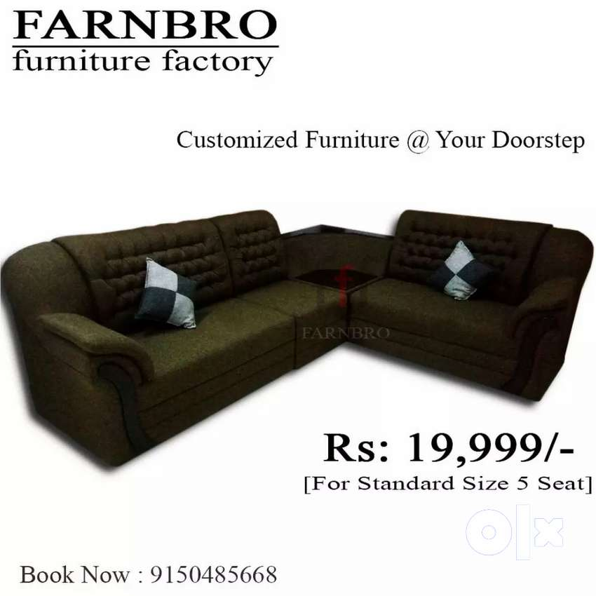 Corner design sofa set all kerala delivery 0