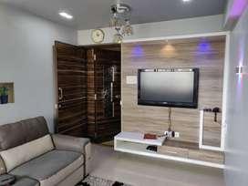 Furnished 1Bhk Flat Rent in Prestige Residency waghbil Thane