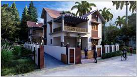Beautiful house NH Potta Chalakudy 50lakhs