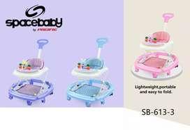 BISA DIANTAR BABY WALKER 4in1 spacebaby bisa untuk ayun ayun