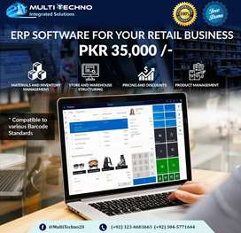 Point of sale (POS) ERP and inventory software