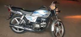 One hand used ok report bike hai full document with rc and insurnce