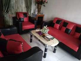 Sofa set meja tamu