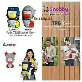 Gendongan bayi Snobby Hipseat bayi Snobby 6 posisi Line series TPG1644