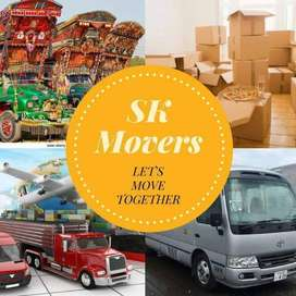 SK Movers Provides Car Carrier, Transportation,Labour, Packing, Moving