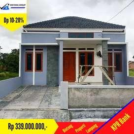 Rumah cluster murah di way Kandis