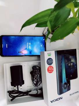 Unboxed Android One Nokia 8.3 5G mobile phone 8GB 128GB Quad Camera