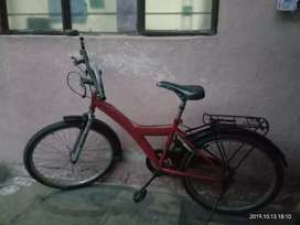 Youngsters bicycle