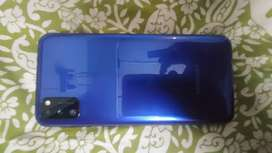 Samsung m21 4gb 64gb blue colour bill box charger original