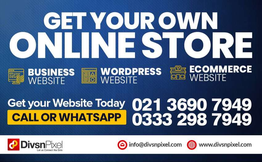 Get your online store with free domain and hosting 0
