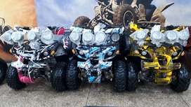 Silver head 4gear Brand new zero meter 124cc ATV quad bike 4 sell