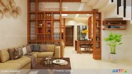 FULLY FURNISHED A/C 3 BHK WITH ALL AMENITIES &PARKING SHORT TIME RENT