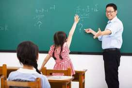 Teachers required for all subjects for online classes.
