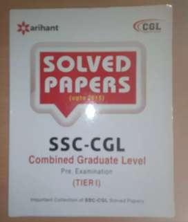 SSC CGL solved papers Pre