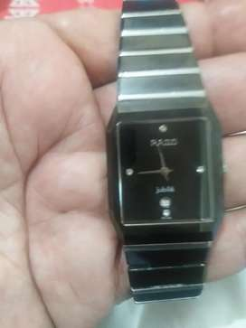 Rado jubile sratch less watch, glass and chain