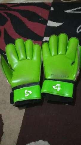 sarung tangan kipper Diego size 10 warna hijau bertulang