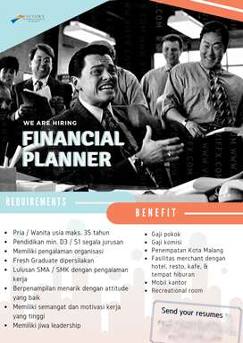 Now Hiring Financial Planner