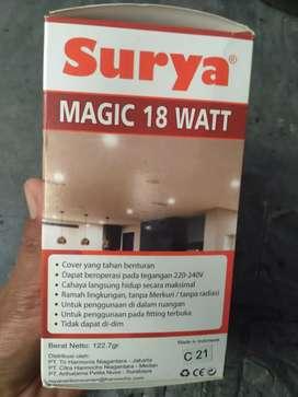 LAMPU SURYA CAS EMERGENCY  18 W