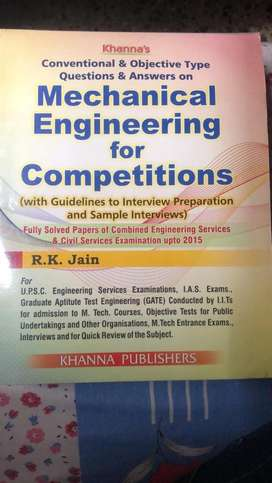 Mechanical Engineering for objectives