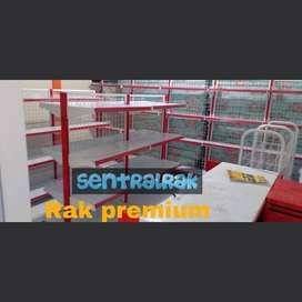 Rak gondola minimarket supermarket swalayan toko