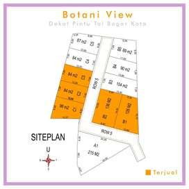 Kavling Luas 96 m2 Dekat Pintu Tol Bogor Kota, Bisa Termin 12 X