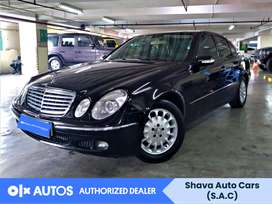 [OLX Autos] Mercedes-Benz E-Class 2005 E 280 Bensin Hitam #Shava