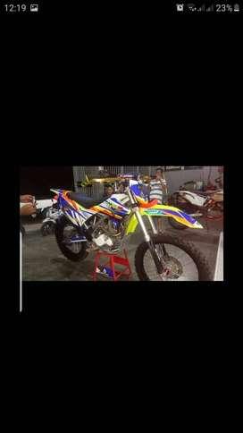 KLX 150 Monster Full Modif