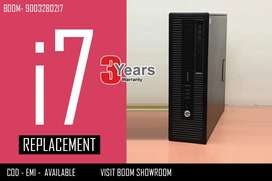 WARRANTY 3 YEARS - HP CPU I7 BRANDED -  DOOR DELIVERY AVAILABLE FOR TN