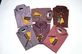 Men shirts for wholesale all over Pakistan export quality.