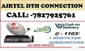 AIRETEL DTH NEW CONNECTION