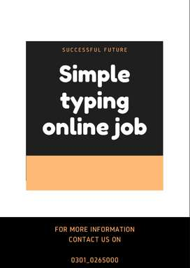 we hiring students for Simple typing online job to earn extra cash