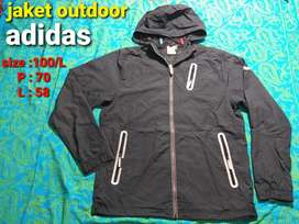 Jaket outdoor adidas climaproof size 100/L