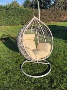Rattan swings available in every colour