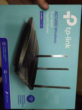 TP LINK AC1200 DUAL BAND GIGABIT ROUTER