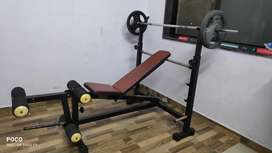 Gym chest table bench
