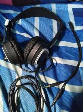 Paket gamer headset & webcam 720p