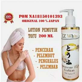 Whitening Body Lotion EZ WHITE Japanese TOFU