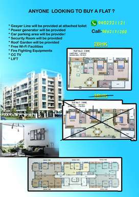 2-bhk flat is available special offer (effordable price)