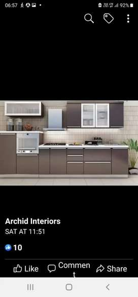 Req experienced designer for company deals in modular kitchen