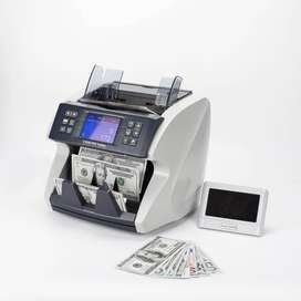 Mix Value Cash Counting Machine with 100% Fake Note Detection feature