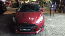 Ford Fiesta Ecoboost S 1.0L AT TURBO Maroon Red 2015