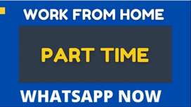 Online part-time work at home to make money anytime, anywhere.