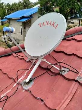 Antena parabola mini dan dunia , terlaris dan termurah tanpa bulanan