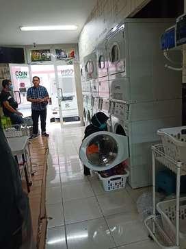 Take over usaha laundry/jual ruko 2 lantai