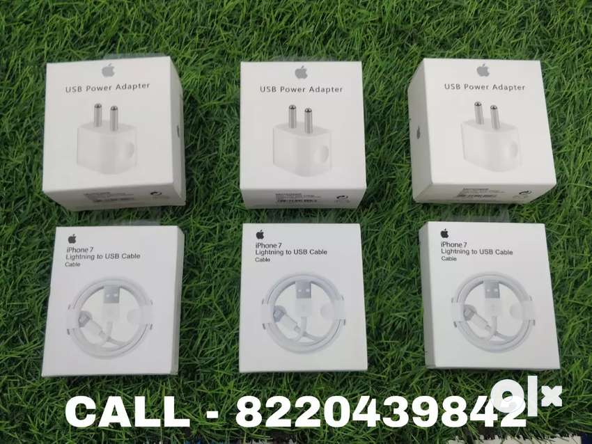 iPhone charger and cable original brand new seal pack 0