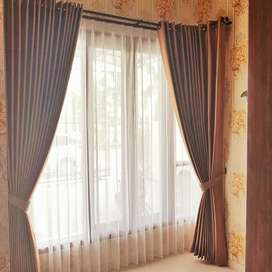 Tatanan gorden gordyn hordeng series-11880 dekorasi aktual cantik