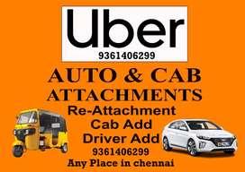 Free Uber Cab & Auto Attachments & Re-attachments