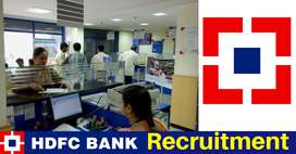 HDFC Fresher undefined Experienced Candidates for CCE